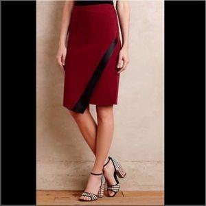 Anthropologie Asymmetrical Skirt